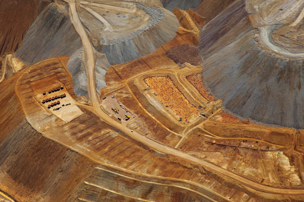The Bingham Copper Open Pit Mine