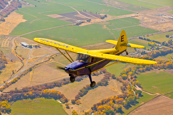 Air to Air photography of Stinson