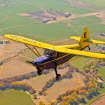 Air to Air photography of a Stinson
