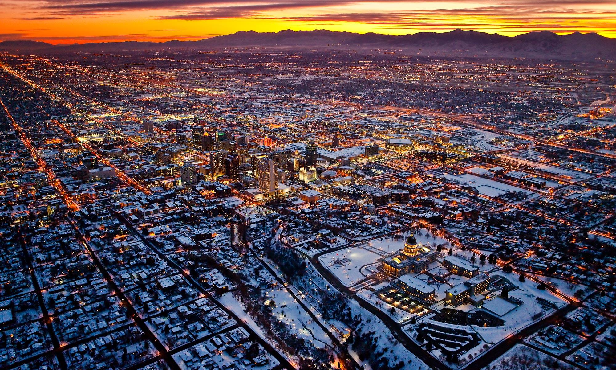 Utah by Air
