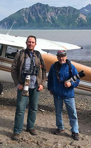 Stan & Allen in Alaska